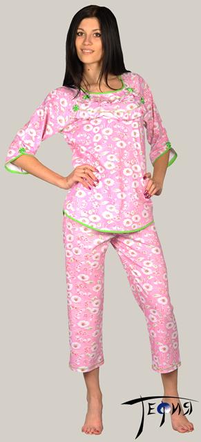 0408087eed6e Женская пижама из трикотажа 100% хб арт. 3-3-22