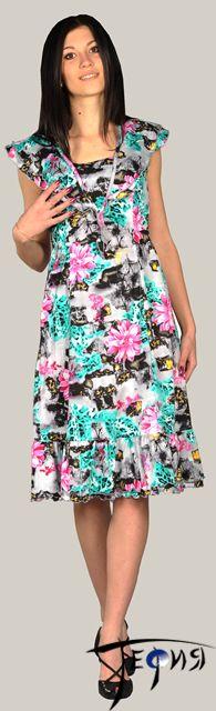 Женское платье 100% хб арт. 6-14
