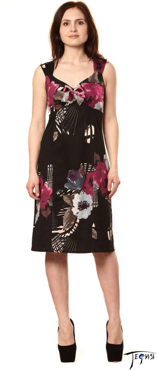 Элегантное платье арт. 6-19 крупный план