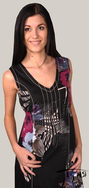 Платье с завышенной талией арт. 6-25 крупный план