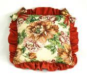 Чехол (наволочка декоративная) на подушку Арт. 13-4 оранж