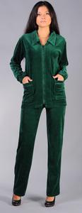 Велюровый костюм артикул  4-4-93 (болотный)