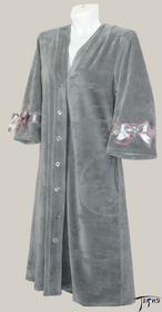 велюровый халат артикул 5-339