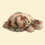 Подушка - валик из гобелена - Черепаха
