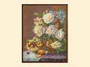 Картина из гобелена - Натюрморт с пионами