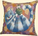 Чехол на подушку - Кот полосатый 3662