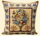 Чехол на подушку - Цветочная ваза 3696