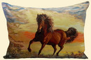 Чехол на подушку - Конь-огонь 3764