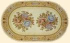 Салфетка декоративная Букет двойной - c 3309