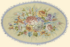 Салфетка декоративная Цветы Дианы - c 3376