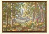 Картина из гобелена - Берёзовая сказка с-3503