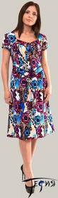 Платье из трикотажного полотна 100 % хб артикул 6-34