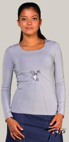 Женская блуза-стрейч из вискозы  с-15