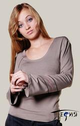 Женская блуза-стрейч из вискозы  С-17