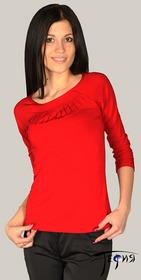 Женская блуза-стрейч из вискозы  с-24