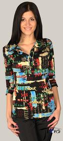 Женская блуза-стрейч из вискозы  с-26