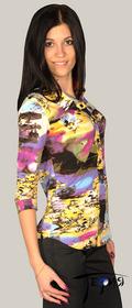 Женская блуза-стрейч из вискозы  с-27
