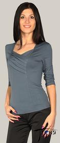 Женская блуза-стрейч из вискозы  с-28