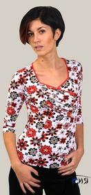 Женская блуза-стрейч из вискозы  с-31