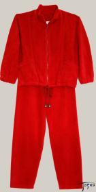 Детский велюровый костюм 80 % хб, 20 % пэ артикул Д-002