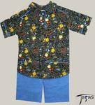 Детский комплект из трикотажного полотна 100% хб артикул Д-025