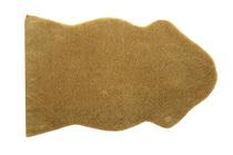 коврик интерьерный из шерстяного меха